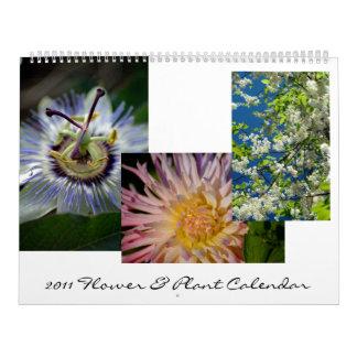 2011 Flower & Plant Calendar