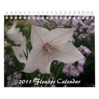 2011 Flowers Calendar