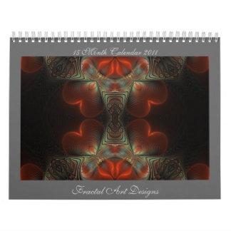 2011 Fractal Art Designs Calendar