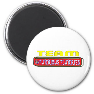 2011 Frost Furrious Flurries TEAM 2 Inch Round Magnet