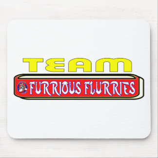 2011 Frost Furrious Flurries TEAM Mouse Pad