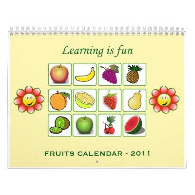 2011 - FRUITS_CALENDAR CALENDARS