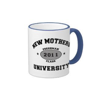 2011 Funny New Mom Ringer Mug