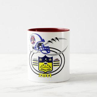 2011 Furrious Flurries SHIELD Two-Tone Coffee Mug