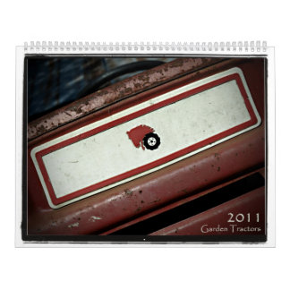 2011 Garden Tractors Calendar