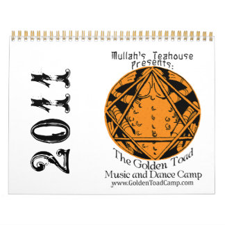 2011 Golden Toad Camp Calendar