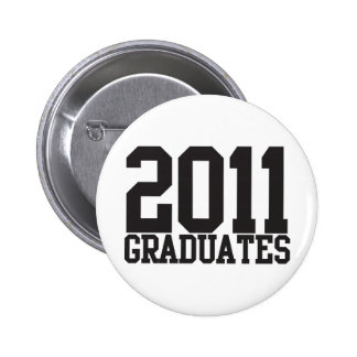 2011 graduates in funky block font! buttons