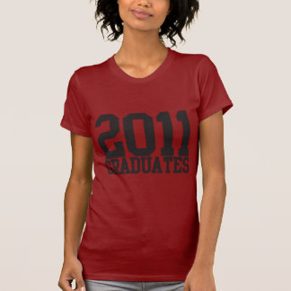 2011 graduates in funky block font! shirts