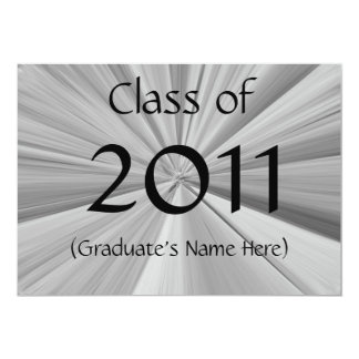 2011 Graduation Announcement