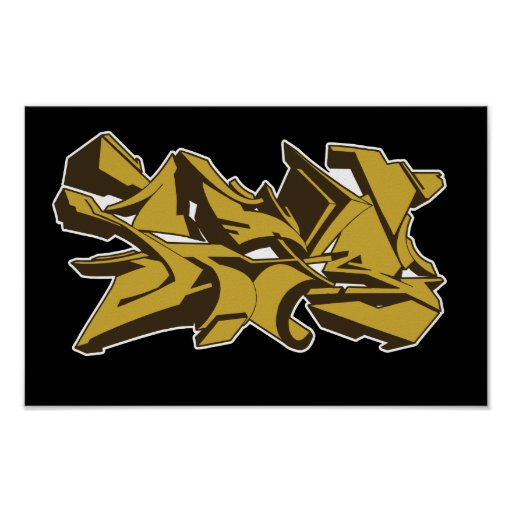 2011 grafstyle yellow poster