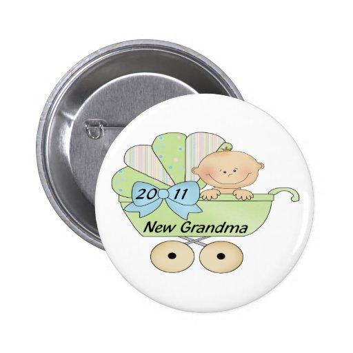 2011 Grandma 2 Inch Round Button