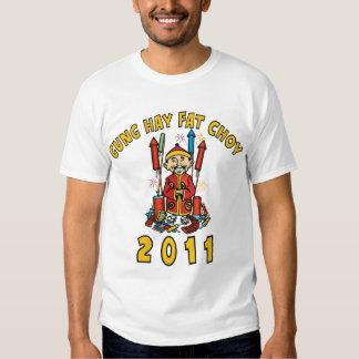 2011 Gung Hay Fat Choy Dark T-Shirt