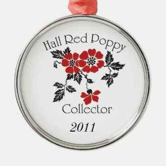 2011 Hall Red Poppy Collector Ornament