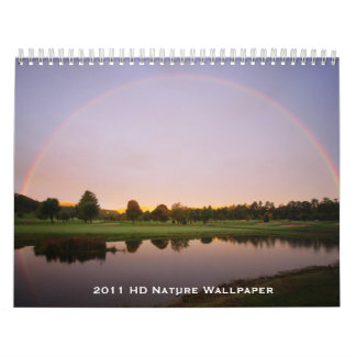 2011 HD Nature Wallpaper Calendar