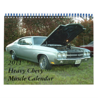 2011 Heavy Chevy Muscle Calendar