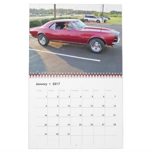 2011 Hot Camaros Calendar