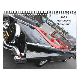 2011 Hot Chevys Calendar