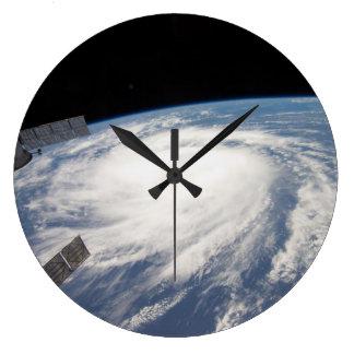 2011 Hurricane Katia From Space Large Clock