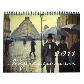 2011 Impressionism Calendar