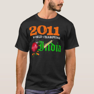 2011 India ICC Cricket World Cup Champs Shirt