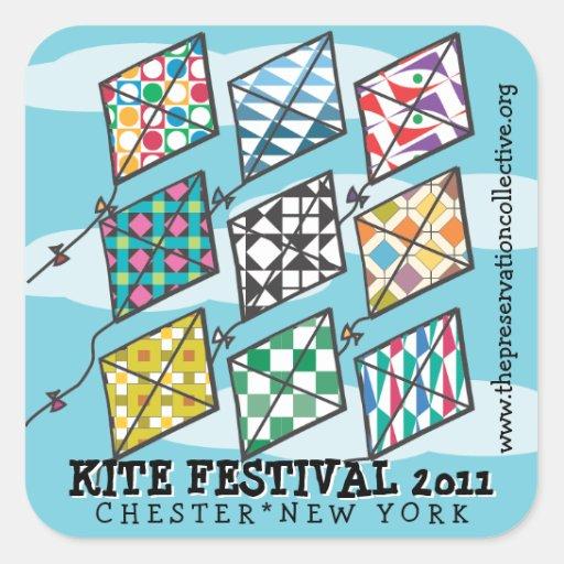 2011 Kite Festival Square Sticker