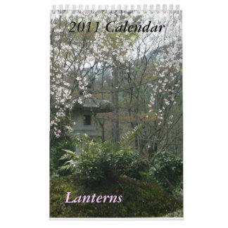 2011 Lanterns Calendar