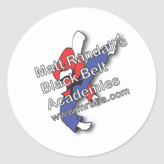 2011 Logo Classic Round Sticker