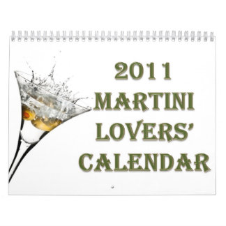 2011 Martini Lovers Calendar