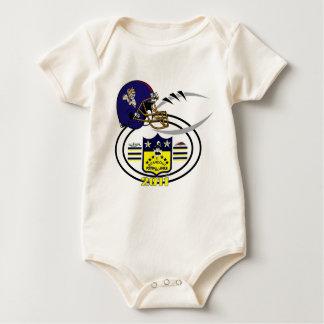 2011 McKinney Rednecks SHIELD Baby Bodysuit