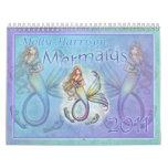 2011 Mermaid Calendar by Molly Harrison