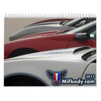 2011 MiFbody com Member Calendar