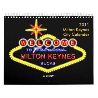 2011 Milton Keynes City Calendar