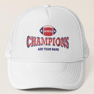2011 MMXI Football Champions Trucker Hat