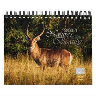 2011 Nature's Beauty customizable - small size Calendar