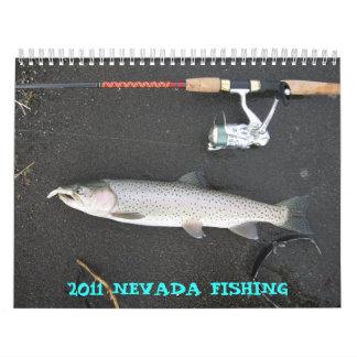 2011 NEVADA FISHING CALENDAR