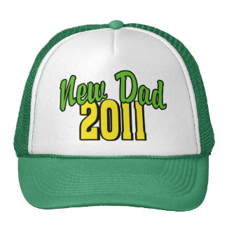 2011 New Dad Trucker Hat