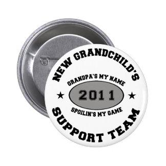 2011 New Grandchild Pinback Button