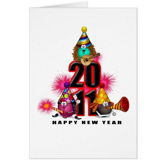 2011 - New Year Design Card