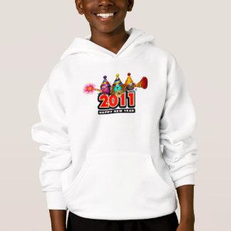 2011 - New Year Design Hoodie
