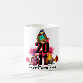 2011 - New Year Design Magic Mug