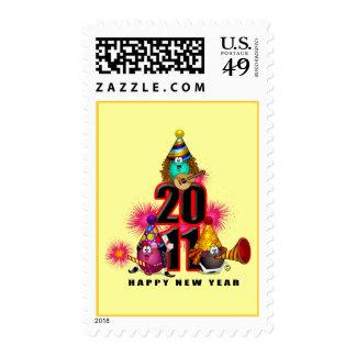 2011 - New Year Design Postage