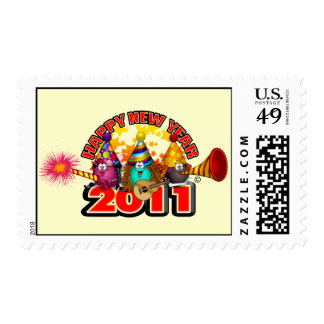 2011 - New Year Design Stamp