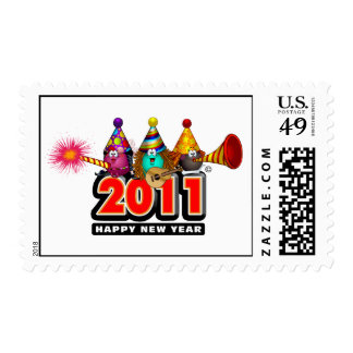 2011 - New Year Design Stamps