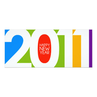 2011 New Year Invitation/Greeting Card