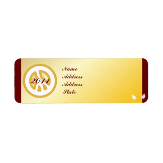 2011 New Year Mail Address Label-Customize