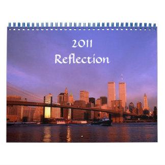 2011 opiniones de torres gemelas del calendario de