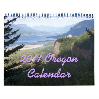 2011 Oregon Calendar