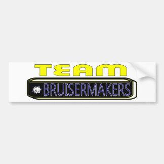 2011 Pardue Bruisermakers TEAM Bumper Sticker