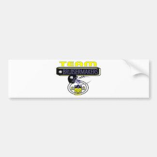 2011 Pardue Bruisermakes SIDELINE Bumper Sticker