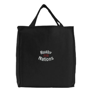 2011 patriotic fans merchandise embroidered tote bag